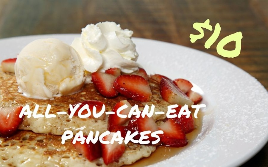 $10 All-You-Can-Eat Pancakes
