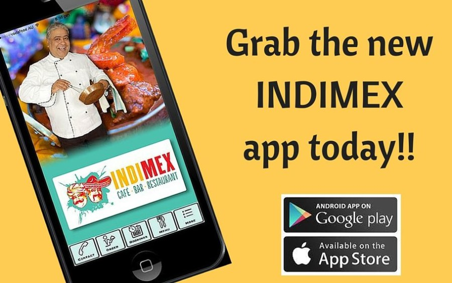 GRAB THE BRAND NEW INDIMEX APP TODAY!