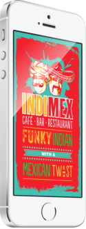IndiMex iPhone Android App