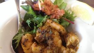 IndiMex Madras Chilli Garlic Prawns