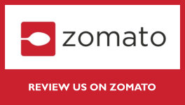Review us on on Zomato