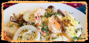 Seafood Tawa Fried Rice